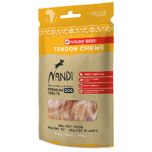 Nandi nguni beef 3.5oz tendon chews