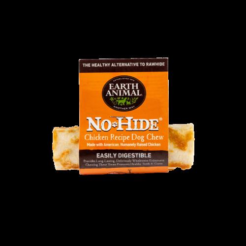 No Hide 4in chicken roll dog treats