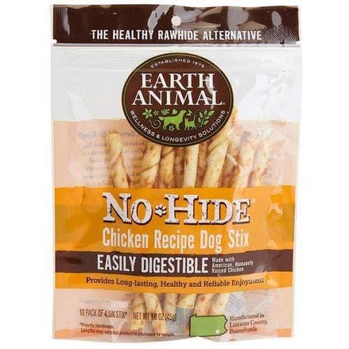 No Hide chicken stix 10 pack dog treats