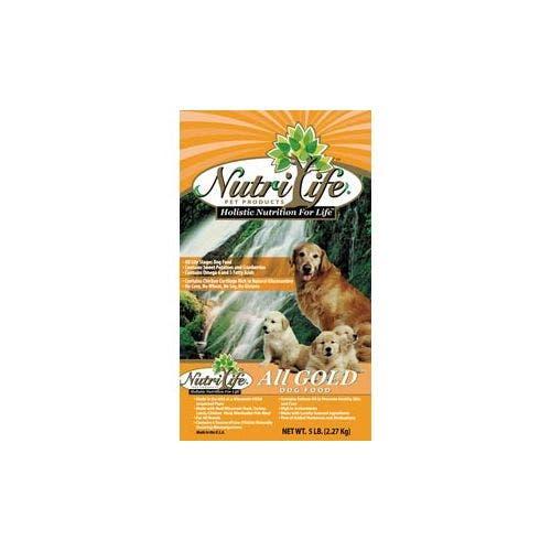 Nutri Life 40lb gold breeder bag dog food