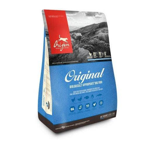Orijen original adult 4.5lb dog food