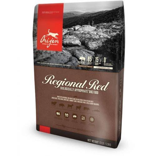 Orijen 13lb regional red dog food