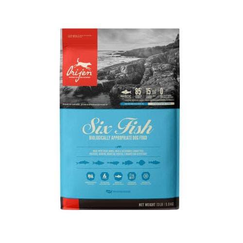 Orijen six fish 13lb dog food