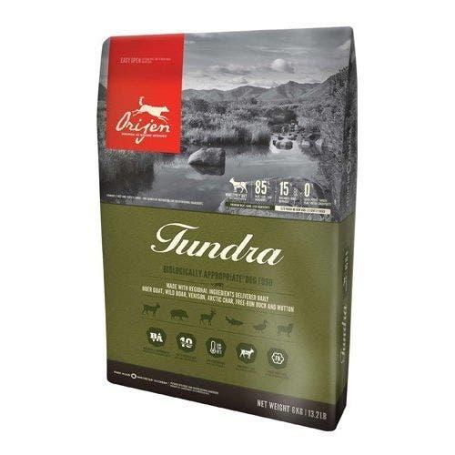 Orijen tundra 4.5lb dog food