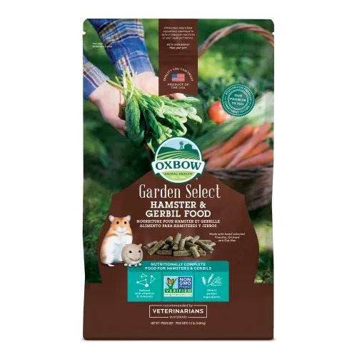 Oxbow garden select 1.5lb hamster gerbil small animal
