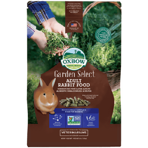 Oxbow garden select 4lb adult rabbit small animal