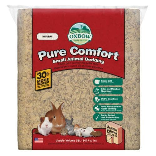 Oxbow pure comfort 72L oxbow blend bedding small animal
