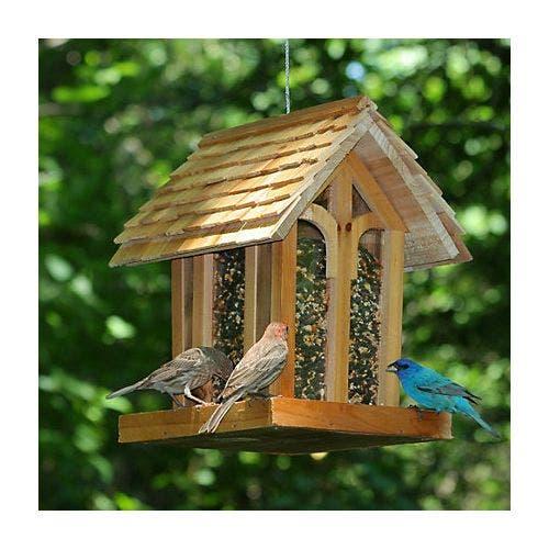 Perky pet mountain chapel wood  feeder bird