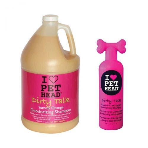 Pet Head dirty talk shampoo gallon dog grooming