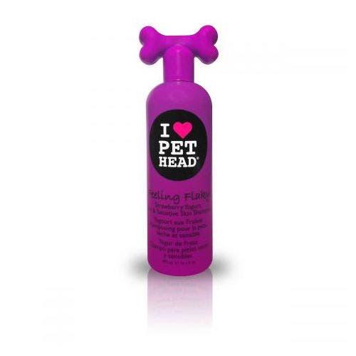 Pet Head feeling flaky shampoo dog grooming