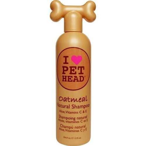 Pet Head oatmeal shampoo dog grooming