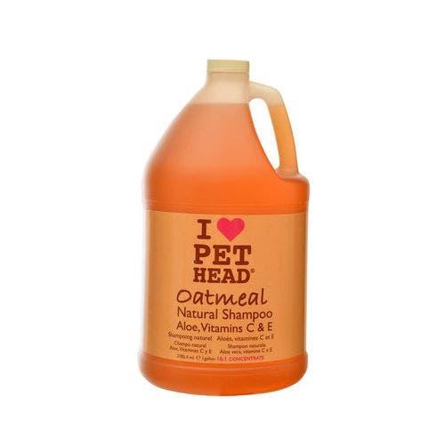 Pet Head oatmeal shampoo gallon dog grooming