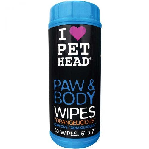 Pet Head paw body wipes dog grooming