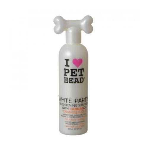 Pet Head white brightening shampoo dog grooming