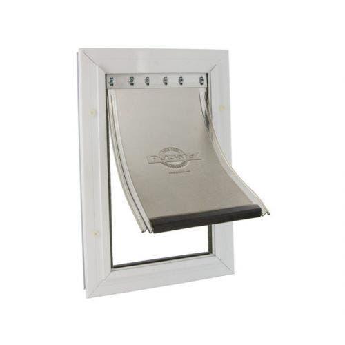 Petsafe pet door extra large white freedom aluminum
