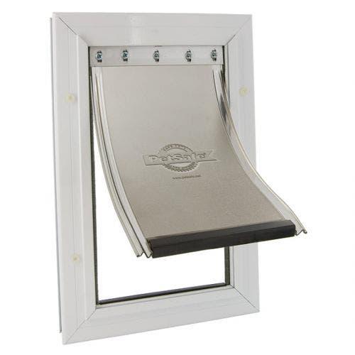 Petsafe pet door large white freedom aluminum