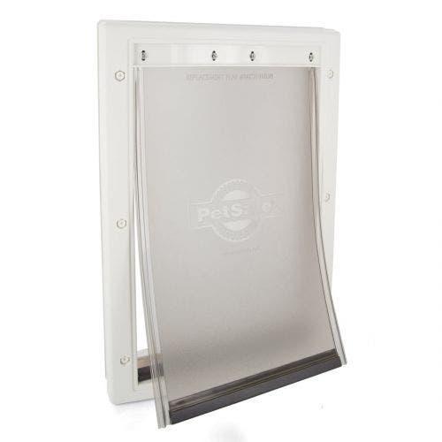 Petsafe pet door medium white premium plastic