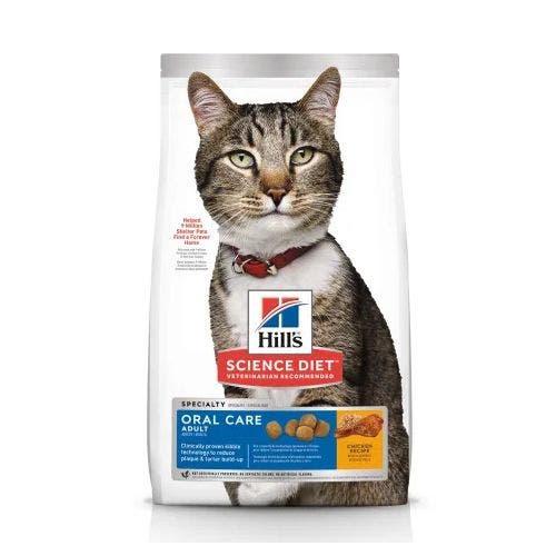Science Diet cat 3.5lb oral care cat food