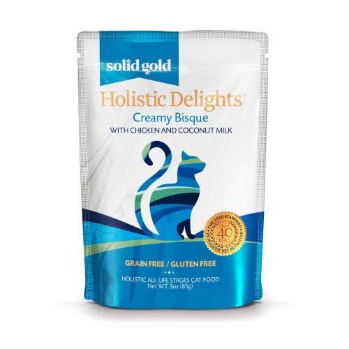 Solid Gold holistic delight 3oz chicken coconut milk cat food