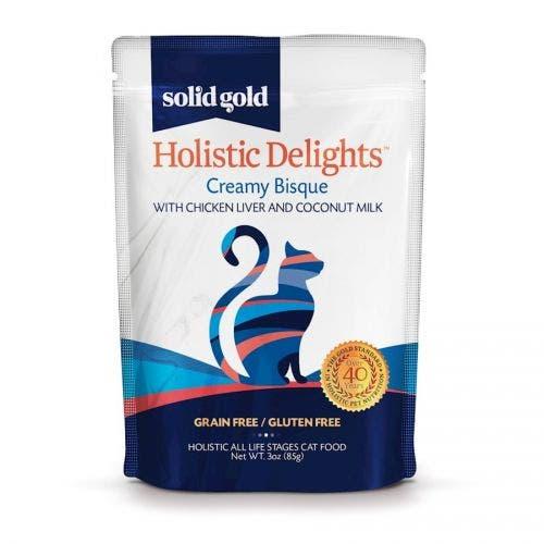 Solid Gold holistic delight 3oz liver coconut milk cat food