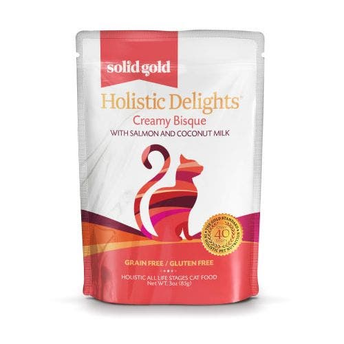 Solid Gold holistic delight 3oz salmon coconut milk cat food