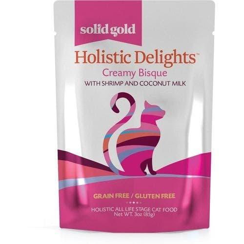 Solid Gold holistic delight 3oz shrimp coconut milk cat food