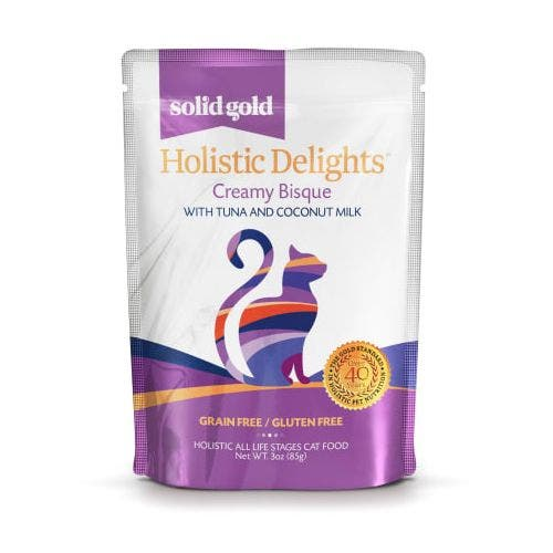 Solid Gold holistic delight 3oz tuna coconut milk cat food