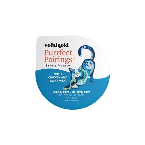Solid Gold purrfect pairing 2.75oz shrimp goat milk cat food