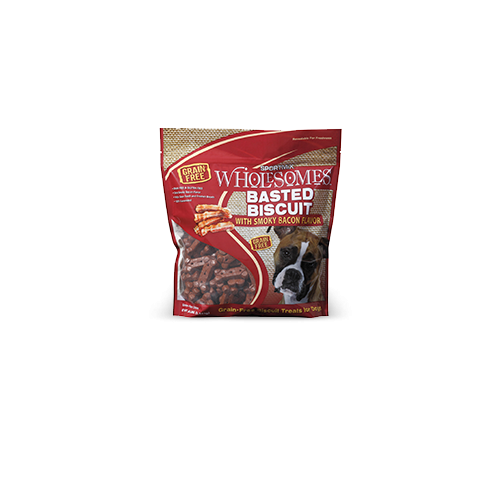 Sportmix 3lb grain free hickory basted biscuit dog treats