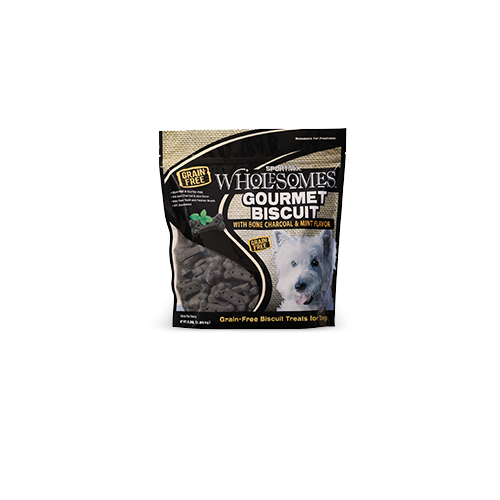 Sportmix 3lb grain free charcoal mint biscuit dog treats