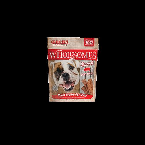 Sportmix wholesome 25oz bruno jerky strips dog treats