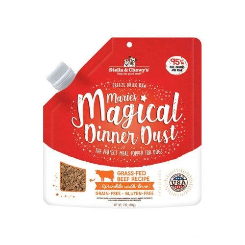 Stella and Chewy's 7oz freeze dried magical beef dog food