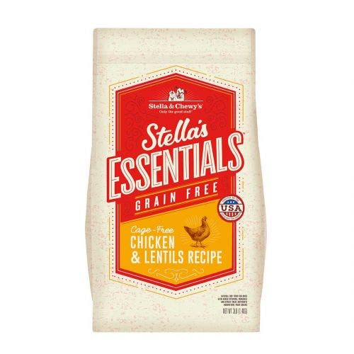 Stella and Chewy's 25lb essentials grain free chicken lentils dog food