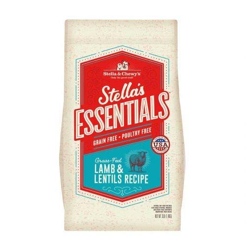 Stella and Chewy's 25lb essentials grain free lamb lentils dog food