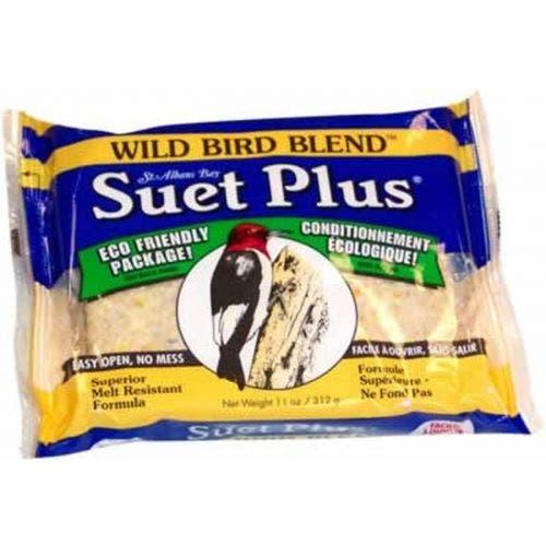 Suet Plus wild bird blend suet plus bird