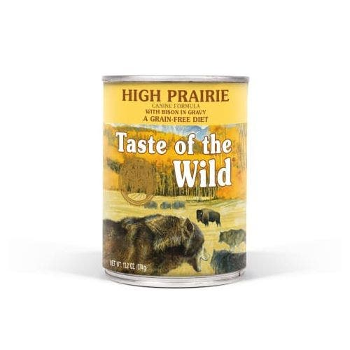 Taste of the Wild 13.2oz  high prairie dog food
