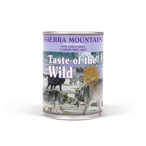 Taste of the Wild 13.2oz sierra mountain dog food