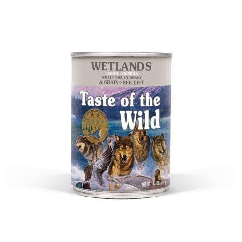 Taste of the Wild 13.2oz  wetlands dog food
