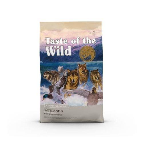 Taste of the Wild 28lb wetlands dog food