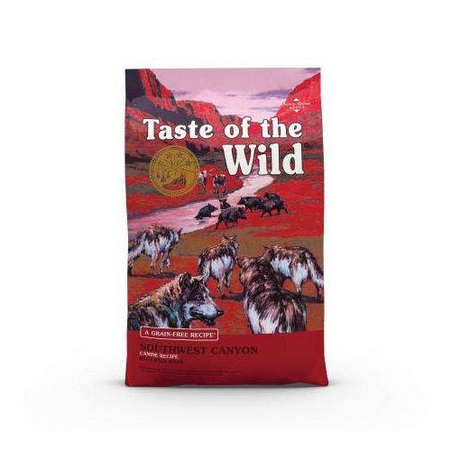 Taste of the Wild 5lb southwest canyon dog food