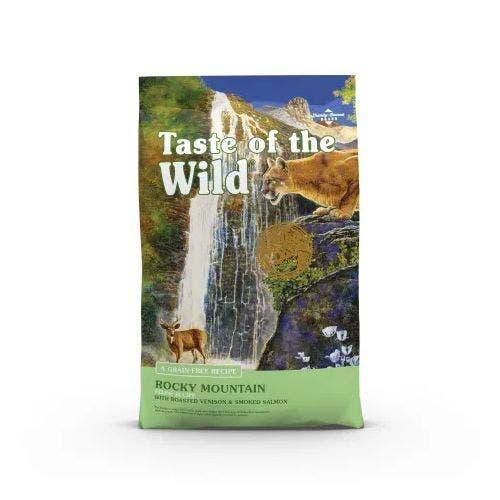 Taste of the Wild feline 14lb rocky mountain cat food