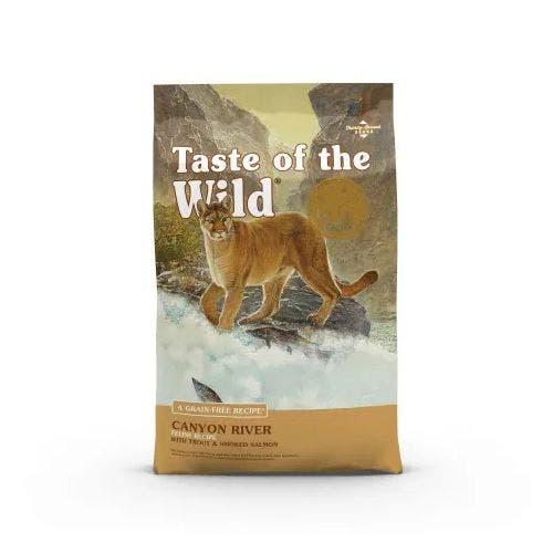 Taste of the Wild feline 5lb canyon river cat food
