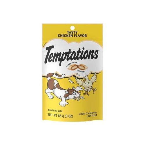 Temptations 3oz tasty chicken cat treat