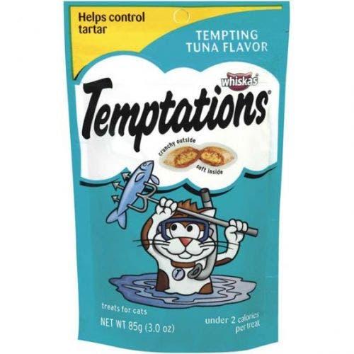 Temptations 3oz tempting tuna cat treat