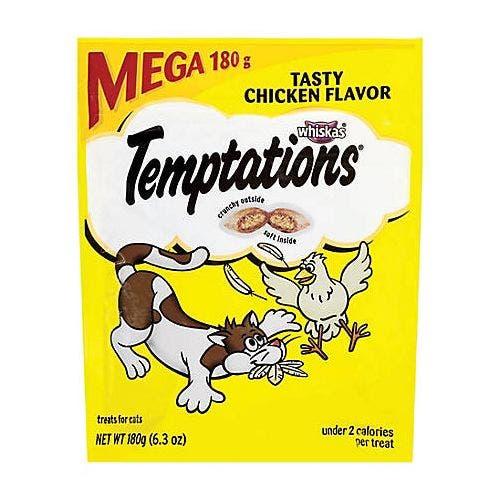 Temptations 6.3oz mega bag tasty chick cat treat
