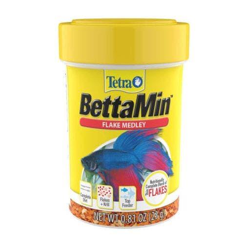 Tetra bettamin flakes .81oz fish