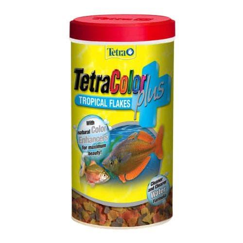 Tetra color flakes 2.2oz fish