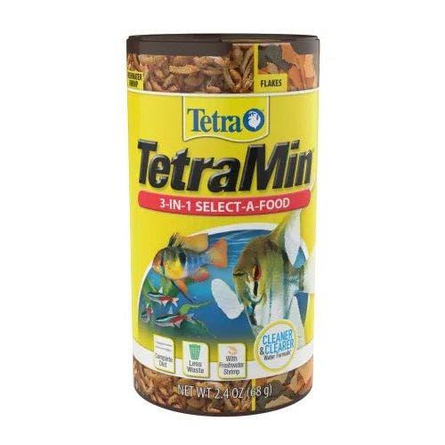 Tetra tetramin cripss select-a-food 2.4oz fish food