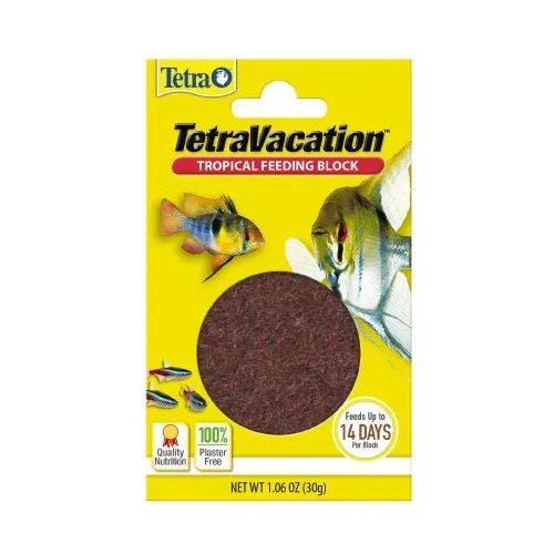 Tetra vacation 14 day gel feeder 1.06oz fish
