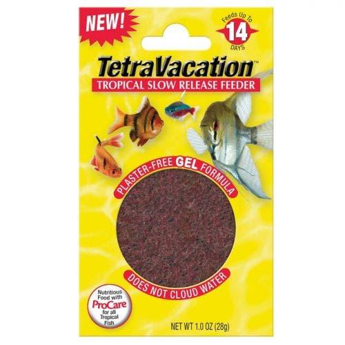 Tetra vacation 5 day gel feeder fish
